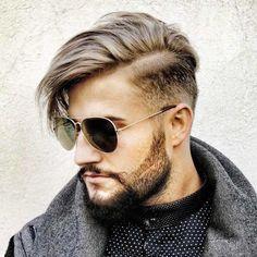 Alors, avant de plonger dans l'univers des coiffures tendance 2017, familiarisez-vous avec la nature de la coupe de cheveux homme dégradé avec trait.