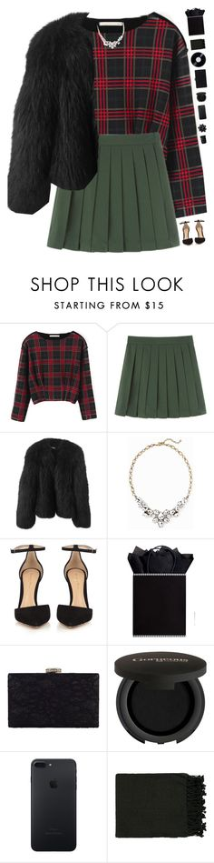"""""""1 day till Christmas! 🎄"""" by genesis129 ❤ liked on Polyvore featuring Chicnova Fashion, Balenciaga, Old Navy, Gianvito Rossi, Chesca, Gorgeous Cosmetics, Surya, NARS Cosmetics, vintage and Winter"""