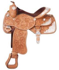Silver Royal Majestic Show Saddle - Horse.com