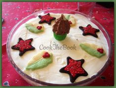 Christmas trifle ή το γλυκό των Χριστουγέννων | cook-the-book Christmas Trifle, Greek, Pudding, Cooking, Book, Desserts, Recipes, Kitchen, Tailgate Desserts
