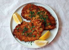 This classic chicken Schnitzel recipe sounds harder to make than it is. Plus, you get to pound out the day's stress.