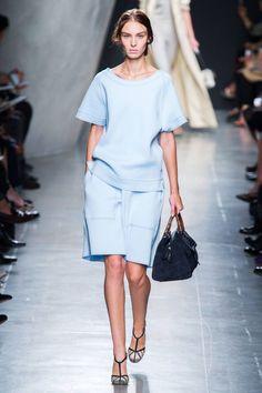 Bottega Veneta Spring 2015. See the best looks from #MFW here.