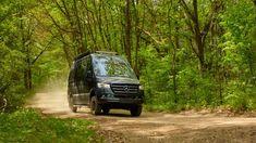 More photos Class B Camper Van, 4x4 Camper Van, Class B Rv, Small Motorhomes, Class B Motorhomes, Adventure Campers, Off Road Adventure, Mercedes Sprinter Camper Van, Thule Bike
