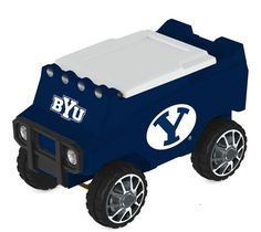 Let the fun begin with your remote control Brigham Young Cougars Cooler. Holds 30 cans plus ice. Officially licensed by the NCAA. Free shipping. Great quality. Visit sportsfansplus.com for details.