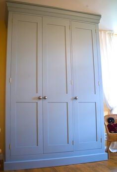 Shaker style doors - similar finish to this.