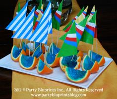 Jello sailboats