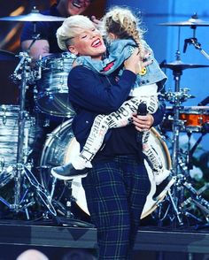 "P!NK on Instagram: ""Alright, last post for the night! I got school and soccer as usual tomorrow so, night night ❤️ #aleciamoore #willowsage"""