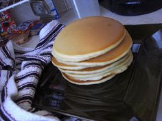 Une pile de pancakes