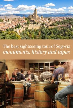 immersive trip to Segovia, a unique UNESCO World Heritage Site, accessing best sightseeing spots and tasting tapas outdoors. Heritage Site, Tapas, Grand Canyon, Spain, Outdoors, Good Things, Eat, History, World