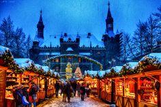 Christmas Market in Aachen, Germany.