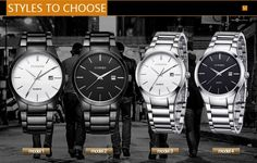 9248e620771 relogio masculino CURREN Luxury Brand Full Stainless Steel Analog Display -  Men s Quartz Watch - Business
