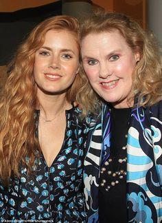 Ravishing redheads! The Golden Globe winner andCelia Weston, 64, were…