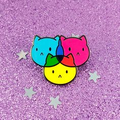 SASSY KITTY PINS ★ enamel pins, stickers and patches ★