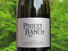 Here's a varietal you don't hear much about.  And it was farmed at a 1,200 ft. elevation.