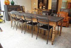 table-ancienne-repeinte-en-gris | Déco | Pinterest | Tables ...