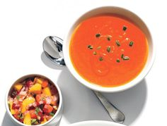 Gazpacho MF Gazpacho, Thai Red Curry, Ethnic Recipes, Fitness, Food, Eten, Keep Fit, Meals, Rogue Fitness