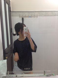 Cute Profile Pictures, Cool Girl Pictures, Uzzlang Girl, Art Girl, Short Hair Korea, Gangsta Girl, Girl Korea, Bad Boy Aesthetic, Ulzzang Fashion