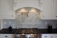 Incroyable Carrara Honed 4x4 U0026 3x6 Backsplash   Portland Direct Tile U0026 Marble