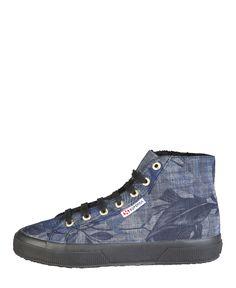 Sneaker unisex  Azul SUPERGA - Otoño Invierno - titalola.com