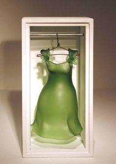 Made by: Carmen Lozar - Glass Art