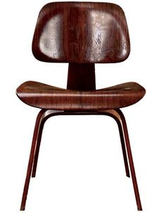 Mid-Century Modern vintage Eames chair.