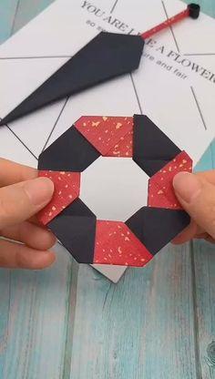 Cool Paper Crafts, Paper Crafts Origami, Creative Crafts, Diy Paper, Paper Art, Diy Crafts Hacks, Diy Crafts Videos, Arts And Crafts, Easy Crafts