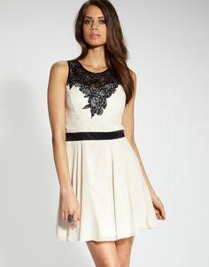 Lipsy Lace Top Skater Dress £55.00