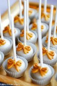 Bow cake pops