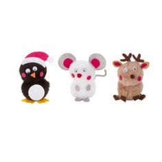 Holiday Inspirations Activity Bucket Pom Deer Mouse Penguin & Christmas Crafts at Joann.com