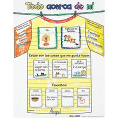 Todo acerca de mi (Spanish Ready-To-Decorate™ All About Me Tee)