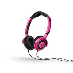 Roze Skullcandy hoofdtelefoon #roze #hoofdtelefoon