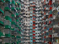 Hong Kong's heights by Michael Wolf