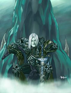 Arthas Menethil, the Lich King by ~pulyx on deviantART