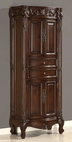 28 inch Traditional Style Linen Cabinet - Item 4329 | Bathroom ...
