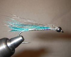 Fly Fishing, Fly Tying & Spey Casting Forum - Blue Rolled Coho Muddler