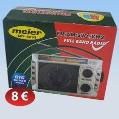 Ραδιόφωνο ρεύματος 8,00 €