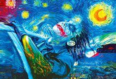 Joker/starry night. Art