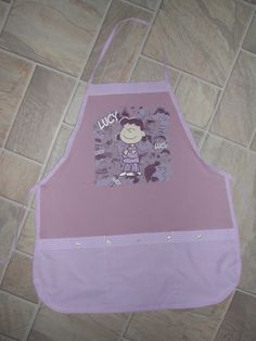 Lucy Apron or Adult Bib by funfoodsaprons on Etsy