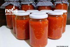 Domates Sos Tarifi Winter Food, Pasta, Jar, Homemade, Cooking, Foods, Kitchen, Recipes, Food Food