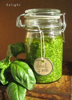 basil pesto (Ina Garten's Pesto)