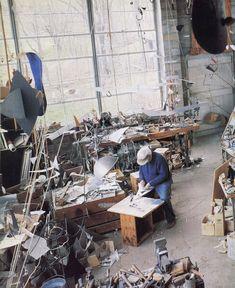Artist and Studio, Alexander Calder's studio and home.