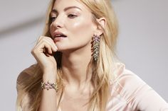 Matching earrings and bracelet by Jon Richard which would look amazing at prom.