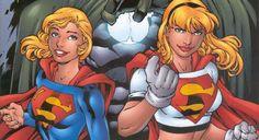 Supergirl (Matrix) & Supergirl (Linda Danvers)