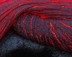 Lava Flow in Hawaii, The Big Island, Hawaii – Justin Reznick #Expo2015 #Milan #WorldsFair