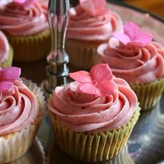 Real Strawberry Frosting by allrecipes #Frosting #Strawberry