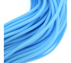 Opaque Light Blue Fun PVC Tuibing
