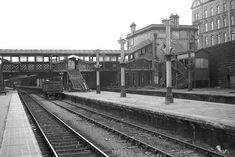Covered Walkway, Great North, Bus Station, Aberdeen, Railroad Tracks, Platforms, Scotland, Maine, Bridge