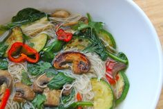 The Fit Cook's Pho - The Fit Cook - Healthy Recipes - Skinny Recipes