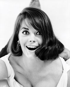 """Natalie Wood in """"Sex and the Single Girl"""" publicity photo, 1964"""