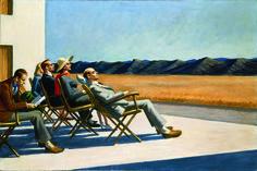 Edward #Hopper - People in the Sun - 1960 - Smithsonian American Art Museum, Gift of S.C. Johnson & Son, Inc.